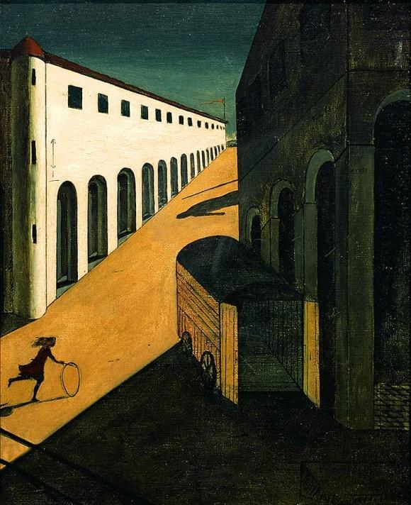 Джорджо де Кирико. Тайна и меланхолия улицы